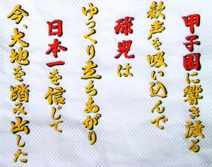阪神タイガース・藤川応援歌